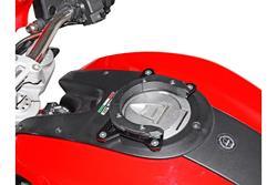 EVO Tankring. Schwarz. Ducati Monster 696/1100.
