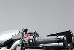 1 Kugel für M10-Spiegelgewinde. Für M10 x 1,25 mm Gewinde. Für RAM Arm. Schwarz.