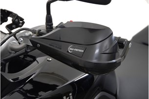 Bild von BBSTORM Handprotektoren-Kit. Schwarz. Kawasaki Versys 650.