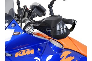 Bild von BBSTORM Handprotektoren-Kit. Schwarz. KTM-/BMW-Modelle, Yamaha WR.