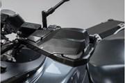 KOBRA Handprotektoren-Kit. Schwarz. NC-Mod/Crosstour,Kaw Versys1000,Suz DL650