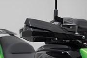 KOBRA Handprotektoren-Kit. Schwarz. Kawasaki Versys 650 (07-)