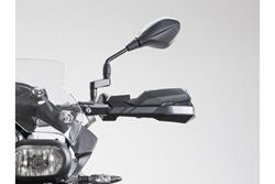 KOBRA Handprotektoren-Kit. Schwarz. Honda XL 600/650/700 V.