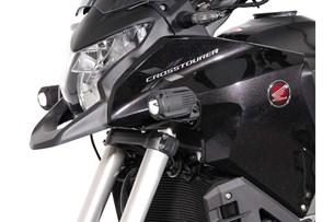 Bild von Scheinwerfer-Halter. Schwarz. Honda Crosstourer (11-).