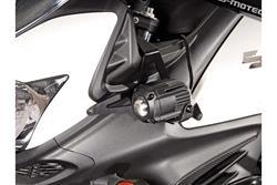Scheinwerfer-Halter. Schwarz. Suzuki DL650 V-Strom (11-16)/ XT (15-16).