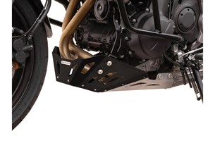 Bild von Motorschutz. Schwarz/Silbern. Kawasaki Versys 650 (07-14).