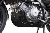 SW-MOTECH Motorschutz. Schwarz. SUZUKI DL 1000 V-Strom / Kawasaki KLV1000
