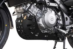 Motorschutz. Schwarz. SUZUKI DL 1000 V-Strom / Kawasaki KLV1000