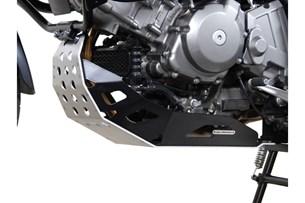 Bild von Motorschutz. Schwarz/Silbern. Suzuki DL 650 V-Strom (04-10).