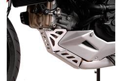 Motorschutz. Silbern. Ducati Multistrada 1200 / S (10-14).