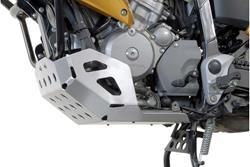 Motorschutz. Silbern. Honda XL700V Transalp (07-12).