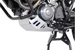 Motorschutz. Silbern. Yamaha XT 660 Z Tenere (07-12).