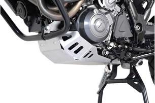 Bild von Motorschutz. Silbern. Yamaha XT 660 Z Tenere (07-12).