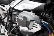 Zylinderschutz. Silbern. R1200R/GS/Adv./RnineT/Scr.