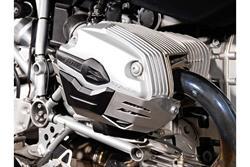 Zylinderschutz. Silbern. BMW R1200 R/ ST/ GS/ Adventure.
