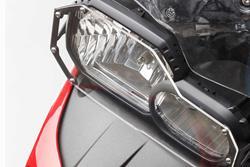 Scheinwerferschutz. Halterung mit Blende. BMW F700 GS / F800 GS (12-).