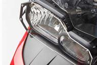 SW-MOTECH Scheinwerferschutz. Halterung mit Blende. BMW F700 GS / F800 GS (12-).