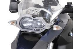 Scheinwerferschutz. Halterung mit Blende. BMW R 1200 GS (04-07).