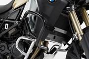 Sturzbügel. Schwarz. BMW F 800 GS Adventure (13-).