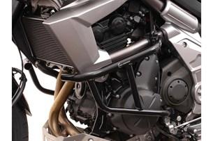 Bild von Sturzbügel. Schwarz. Kawasaki Versys 650 (07-14).