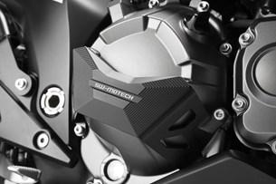 Bild von Motordeckel-Schutz. Schwarz. Kawasaki Z 800 (12-).