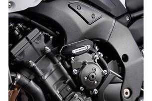 Bild von Sturzpad-Kit. Schwarz. Yamaha FZ8/FZ8 Fazer (10-).