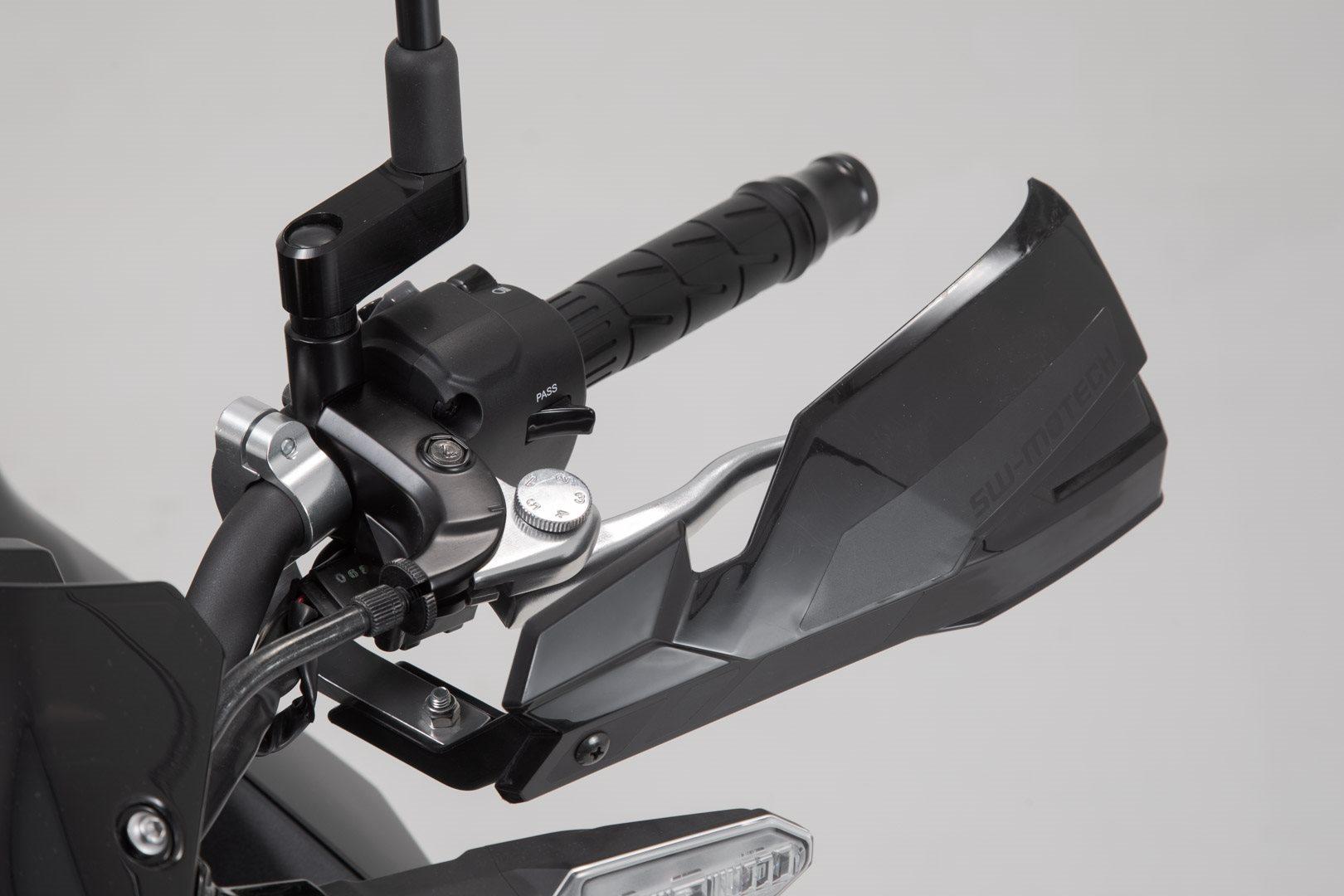 Montagematerial Schwarz Handschützer Schutz Handguards für 22mm Lenker inkl