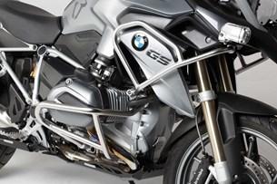 Bild von Oberer Sturzbügel. Edelstahl. BMW R 1200 GS LC (13-16).