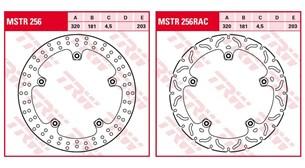 Bild von Super Grip Fußrasten für BMW R1200S & HP2 Sport