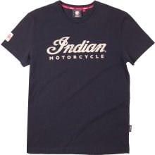 Bild von INDIAN T-Shirt schwarz Ecru