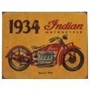 Bild von INDIAN Schild 1934