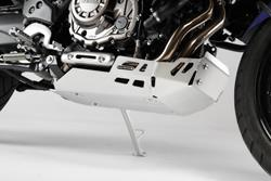 Motorschutz. Silbern. Yamaha XT1200Z Super Ténéré (10-).