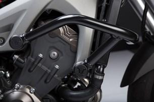 Bild von Sturzbügel. Schwarz. Yamaha MT-09/Tracer, XSR900/Abar.