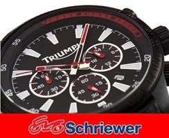 Triumph Sports Chronograph schwarz
