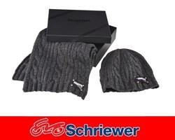 Triumph Beanie & Schal Set grob gestrickt