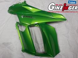 Z1000SX Seitenverkleidung grün MY 2011