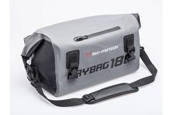 Drybag 180 Hecktasche. 18 l. Grau/Schwarz. Wasserdicht.