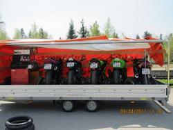 Leihanhänger / Mietanhänger für 7 Bikes zum fairen Preis