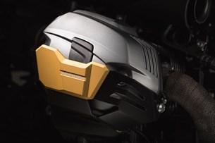 Bild von Zylinderschutz. Golden. BMW R1200 R / GS / Adv, R nineT.
