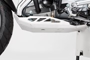 Motorschutz. Silbern. BMW R1200 GSLC / Adventure (13-), Rallye.