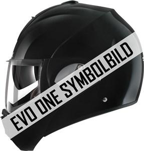 Bild von SHARK EVO-ONE Blank schwarz XL