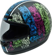 HELIX ACTIVY MONSTER HIGH GRUNGE Helm sw./deco S
