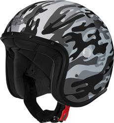 CABERG FREERIDE COMMANDER matt weiss/grau/camo XL