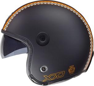 Bild von NEXX X70 FREEDOM matt schwarz/orange L