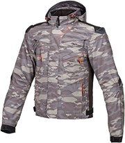MACNA REDOX Textiljacke camo grau/night eye 3XL