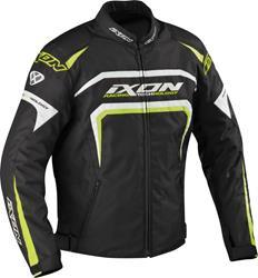 IXON EAGER Textiljacke schw./weiss/leuchtgelb S