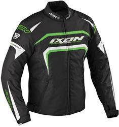IXON EAGER Textiljacke schw./weiss/grün L