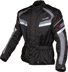 MACNA BOOSTER RIVA Textiljacke schwarz/neongelb L