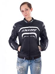 IXON LOVER Damenjacke schwarz/weiss/silber XS