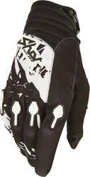 SHOT DEVO LOAD Handschuh schwarz/weiss 12